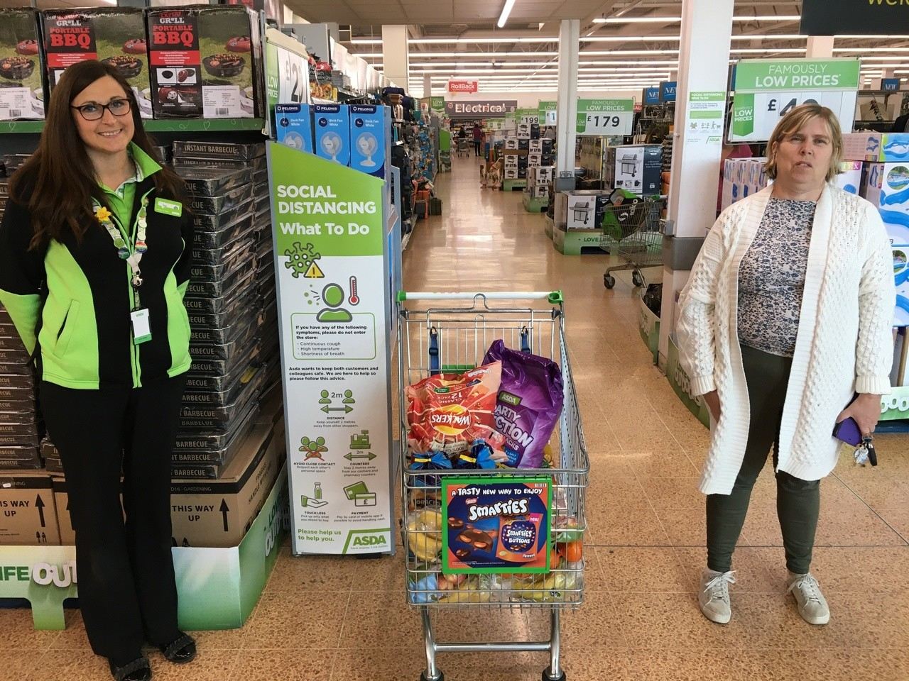 Donation for school lunch packs to Juice Community Project  | Asda Longwell Green
