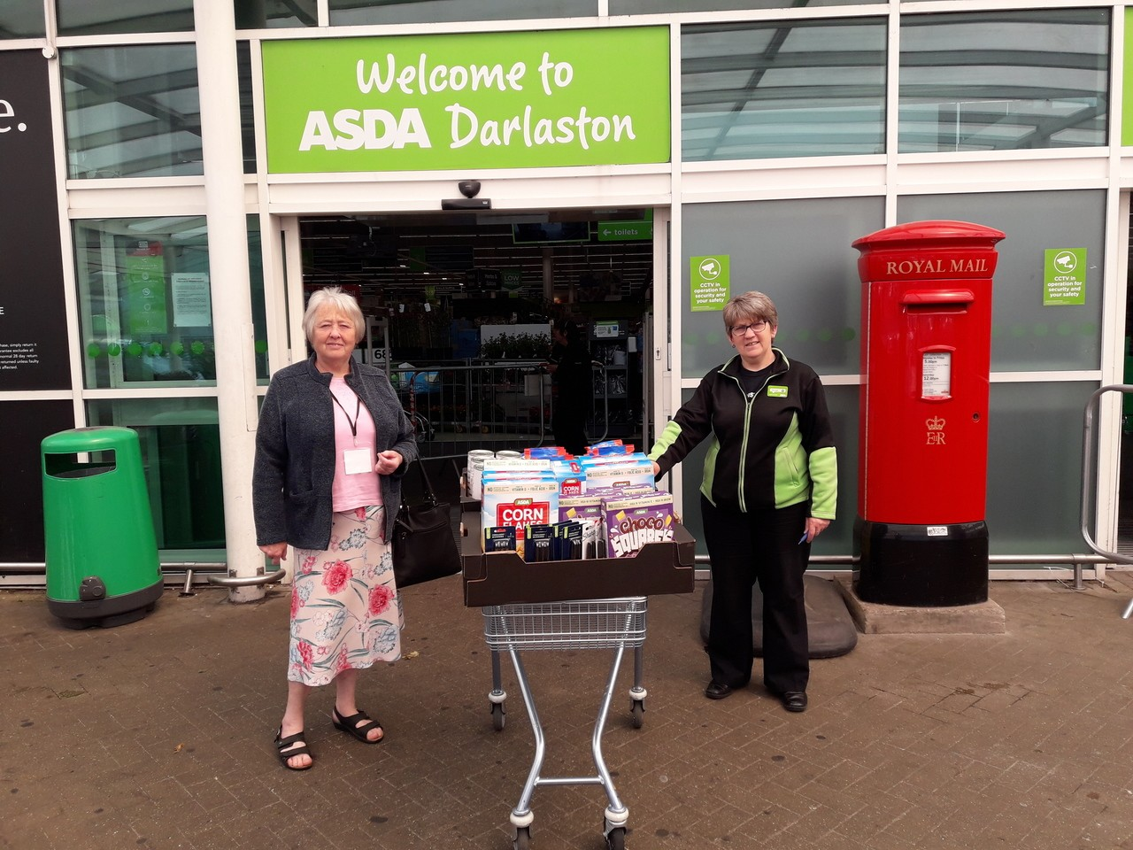 Donations to local groups | Asda Darlaston