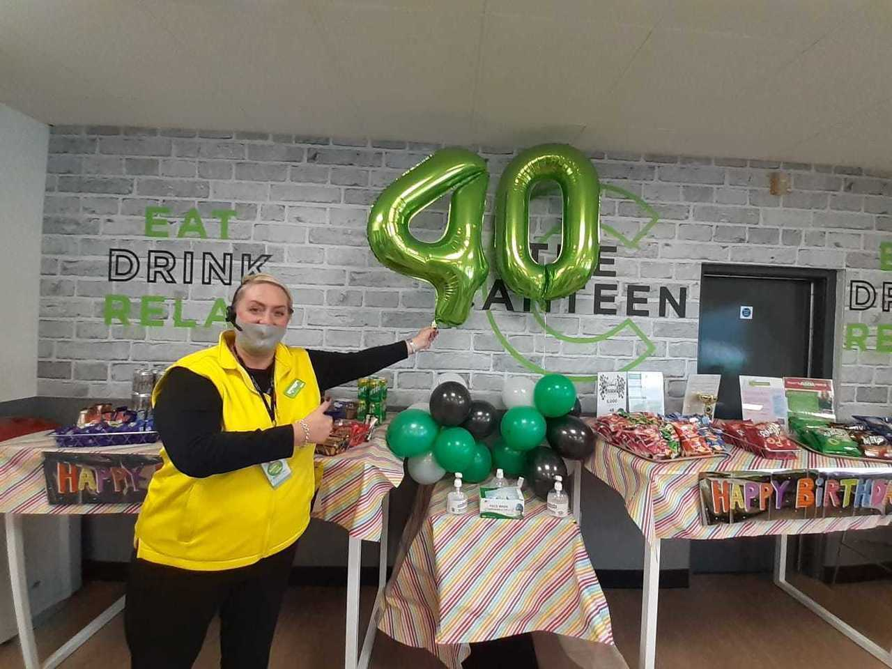 Congratulations to colleagues at Asda Blantyre as the store marks its 40 birthday | Asda Blantyre