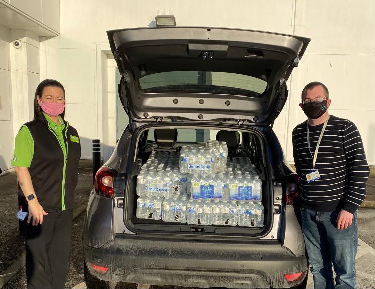 Keeping the kids in school well hydrated | Asda Dundee Kirkton