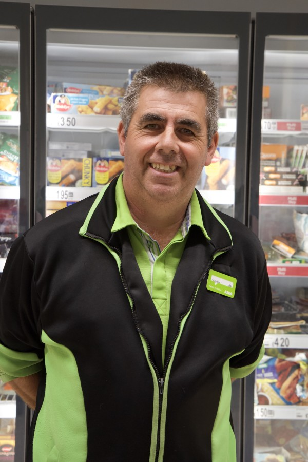 Popular colleague Stephen Flack from Asda South Woodham Ferrers