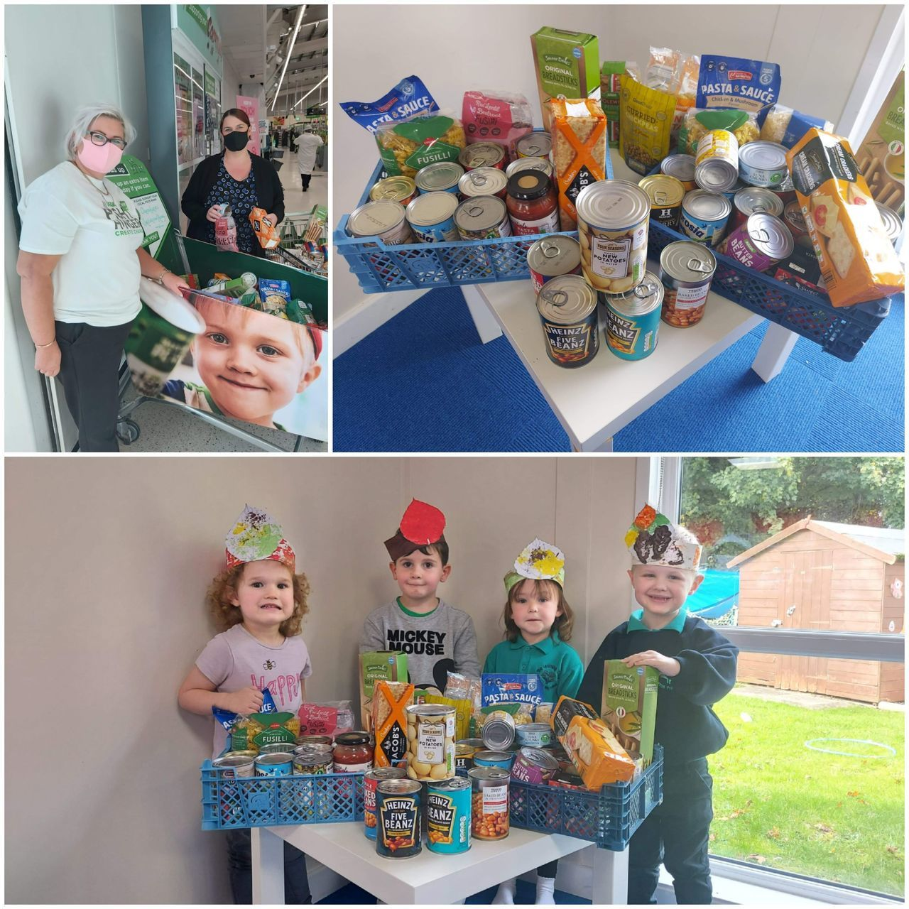 Harvest festival donation | Asda Donnington Wood