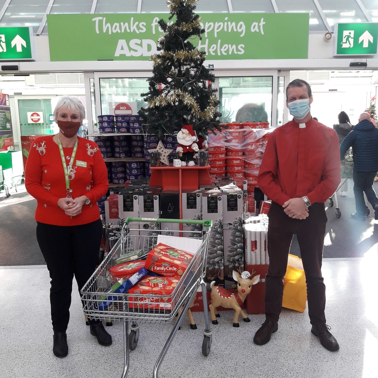 Asda St Helen's  supporting local Church | Asda St Helens