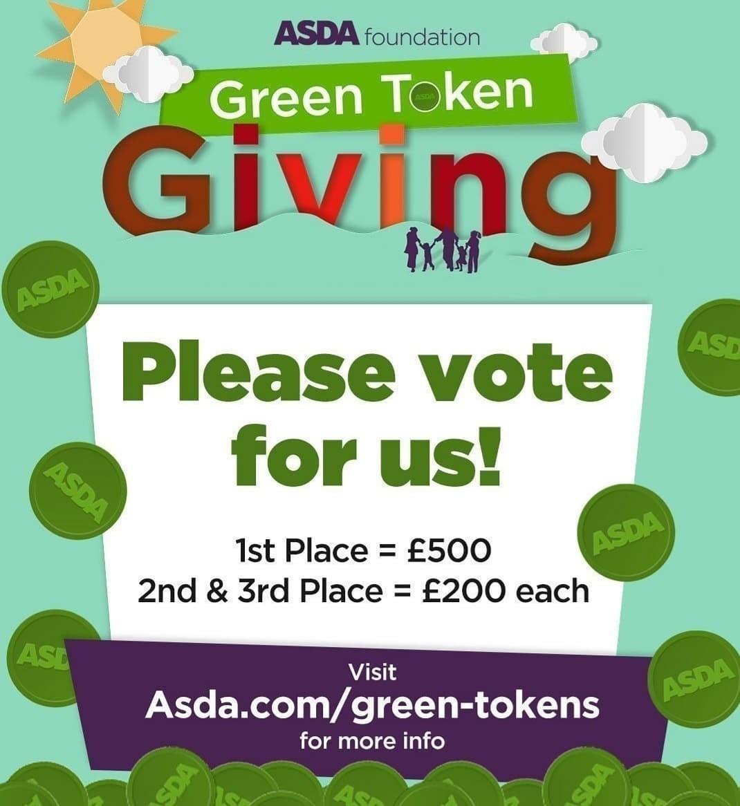 Green Token Giving is DIGITAL!🟢 | Asda Hayes