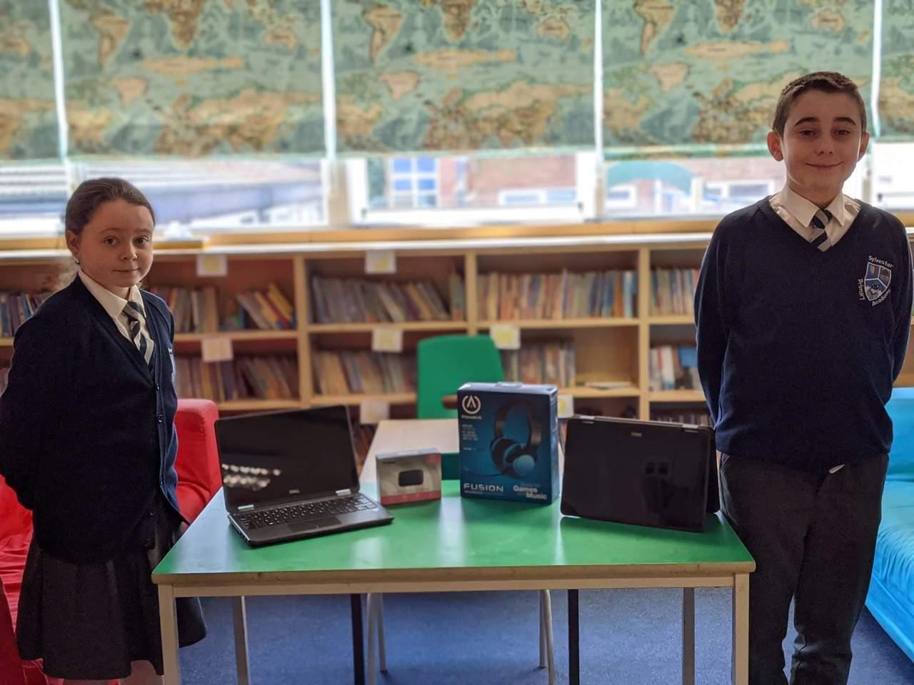 Laptop donation | Asda Huyton