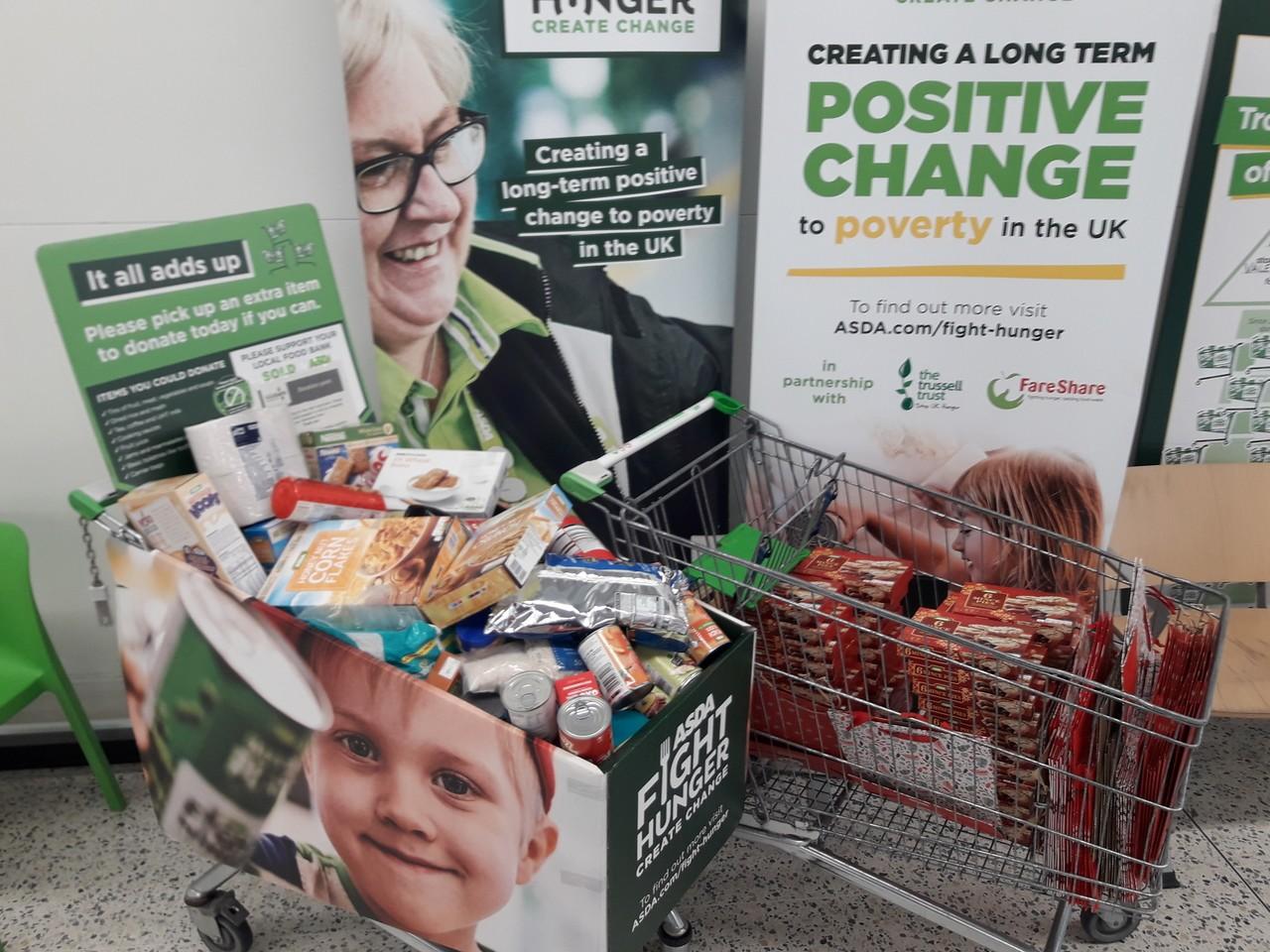 Store donation. | Asda Barry