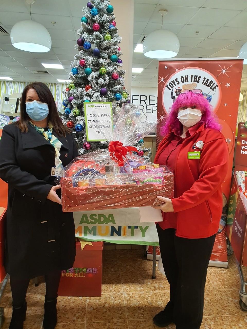 Donations for Christmas | Asda Leicester