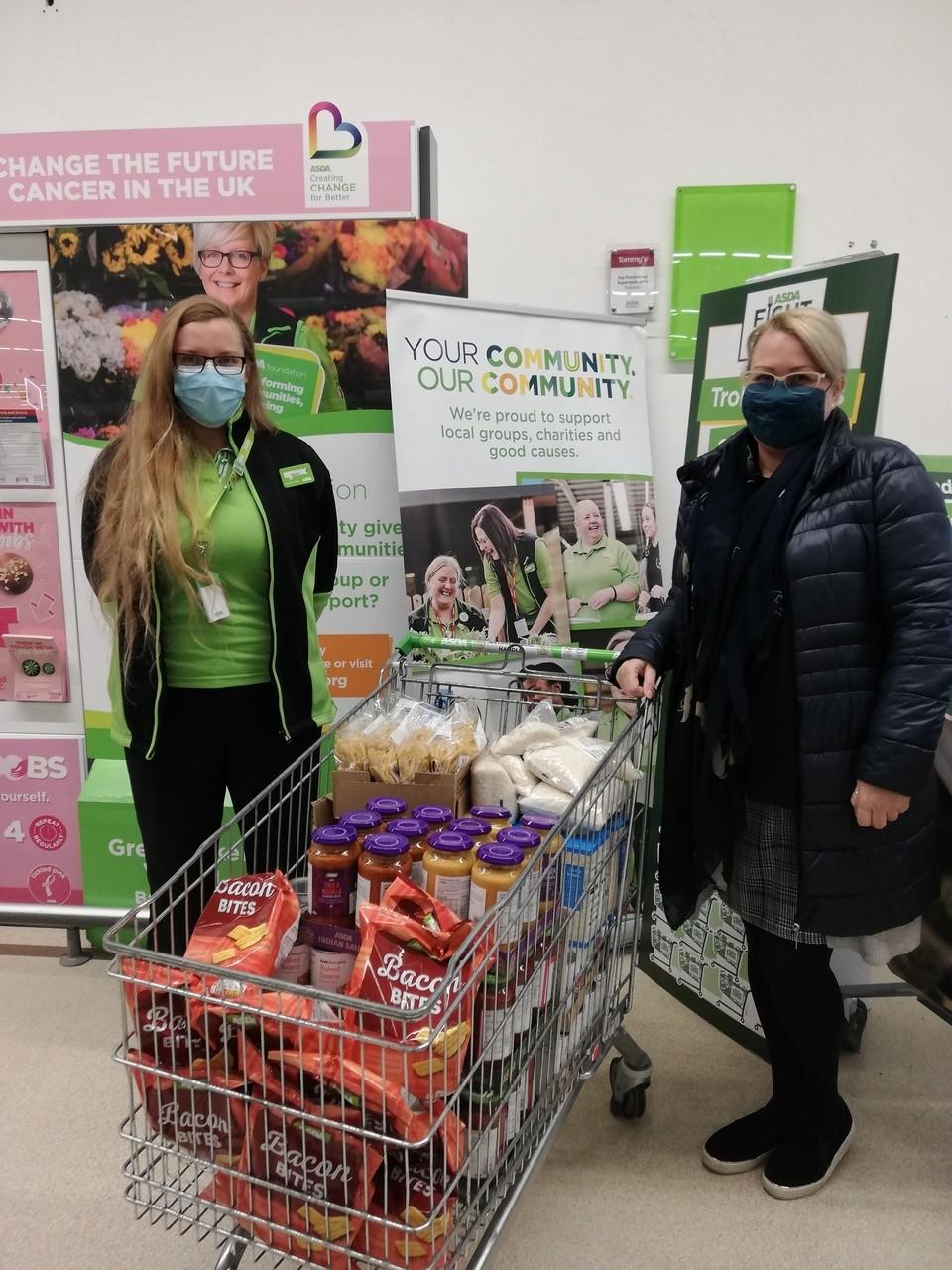 Home-start food donation | Asda Folkestone
