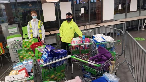 Asda Warrington rallies to support flood-hit communities