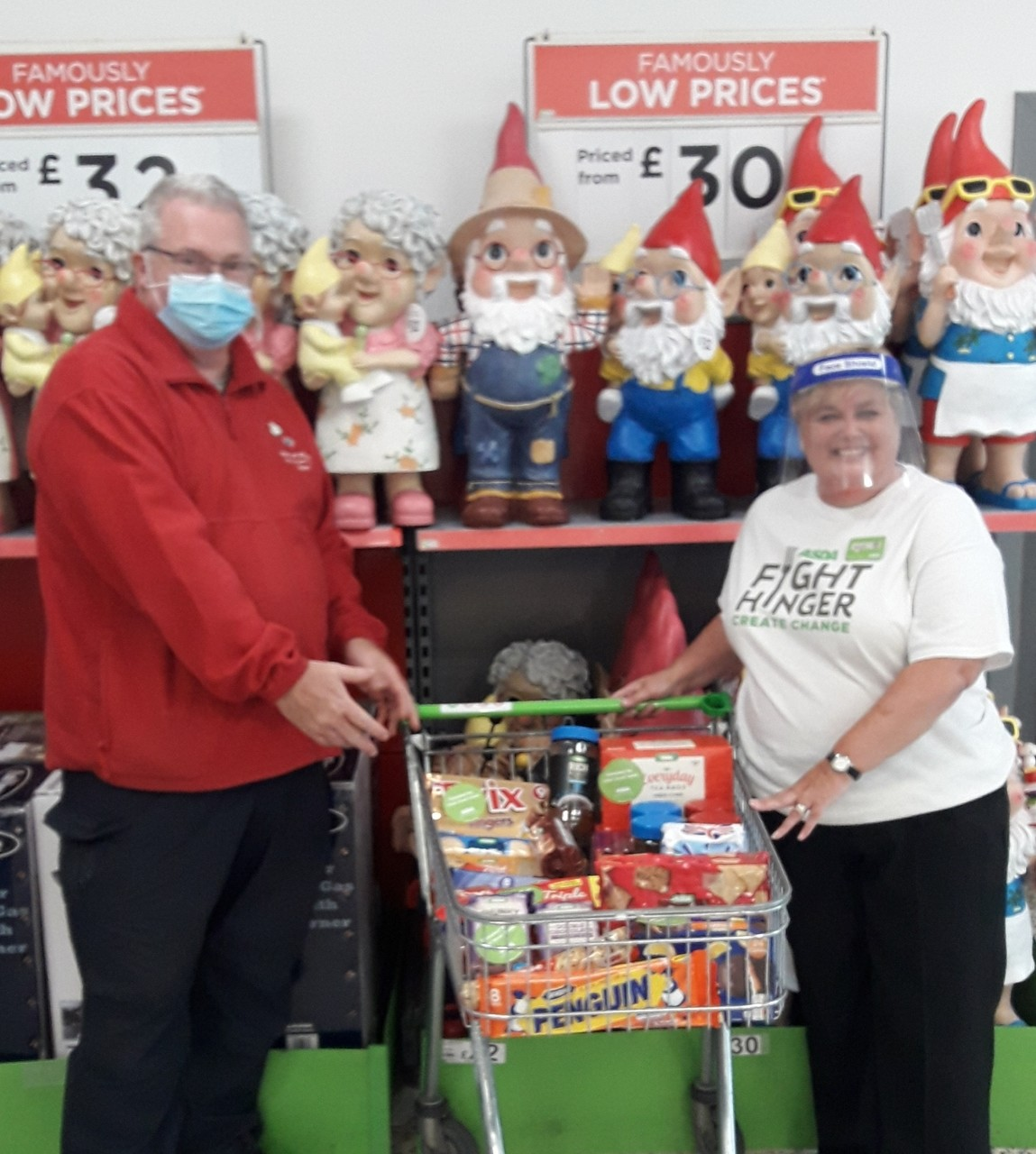 Donation to Out of Sight Charity's community hub | Asda Gosforth