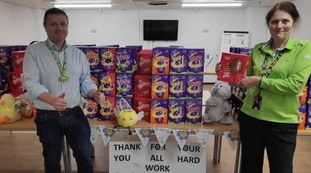 Easter thank you | Asda Watford