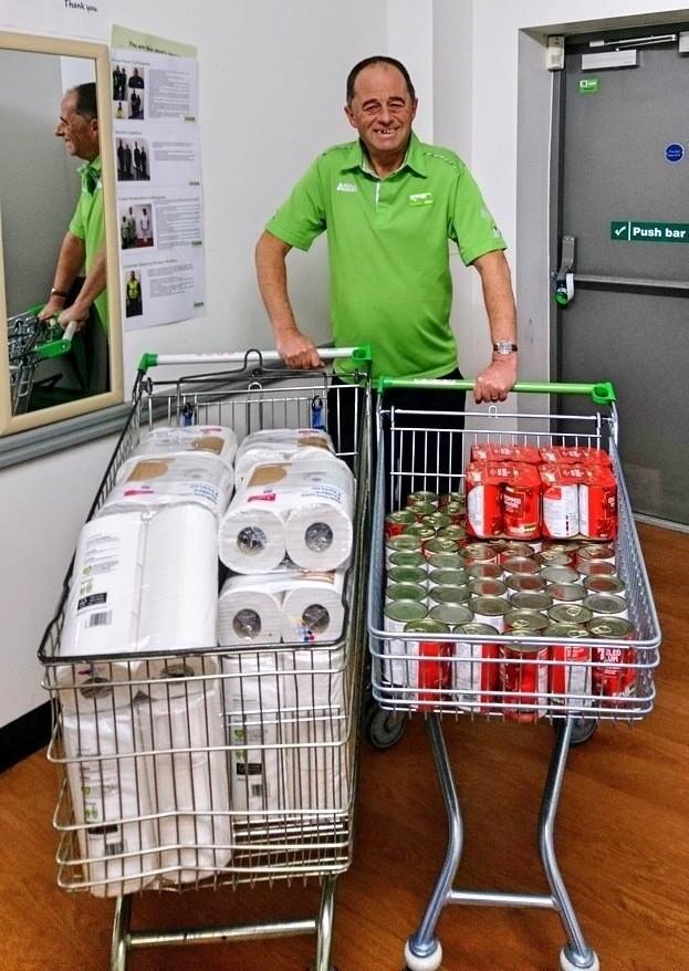 Foodbank donation | Asda Filton