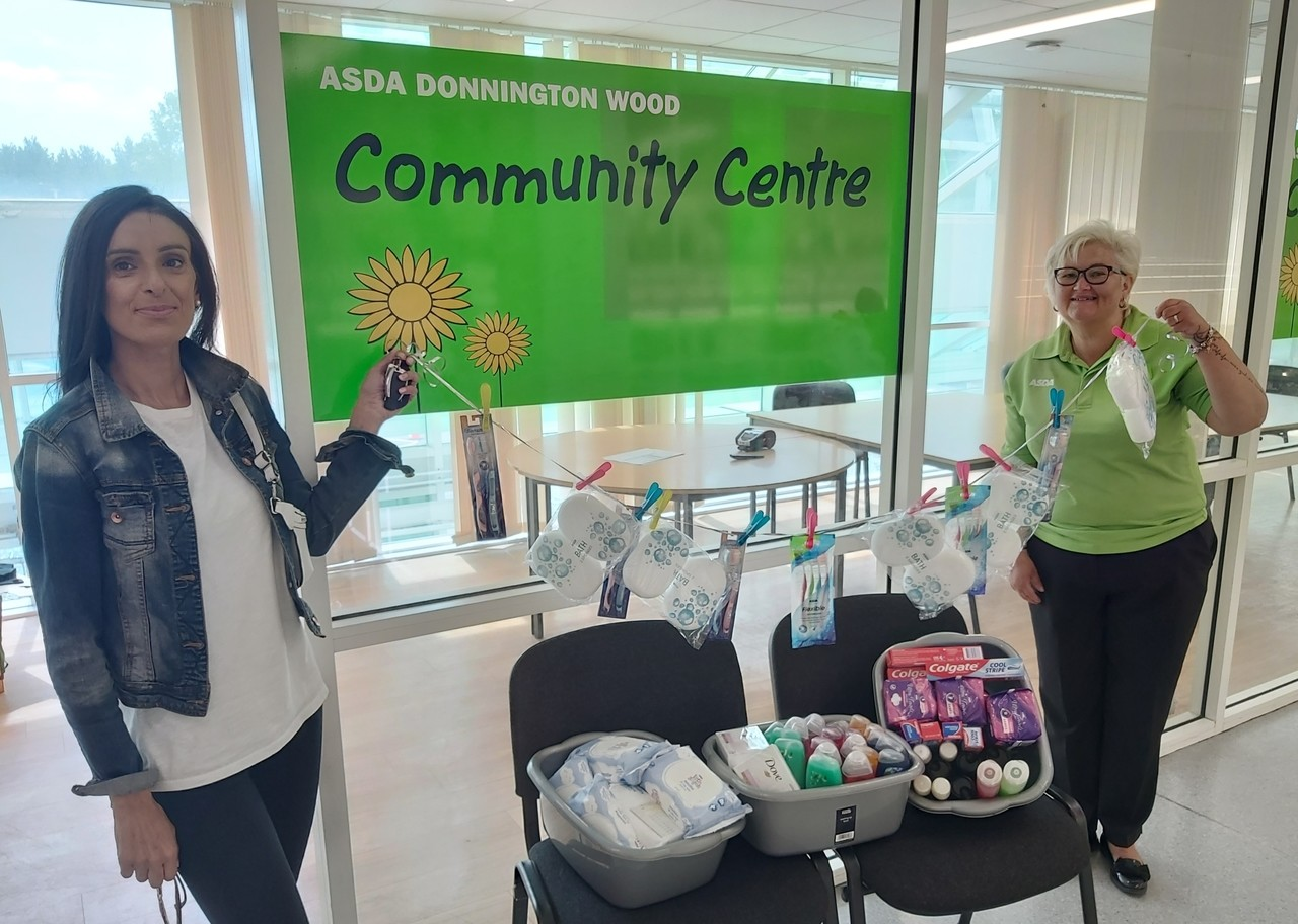 Donating to local church | Asda Donnington Wood