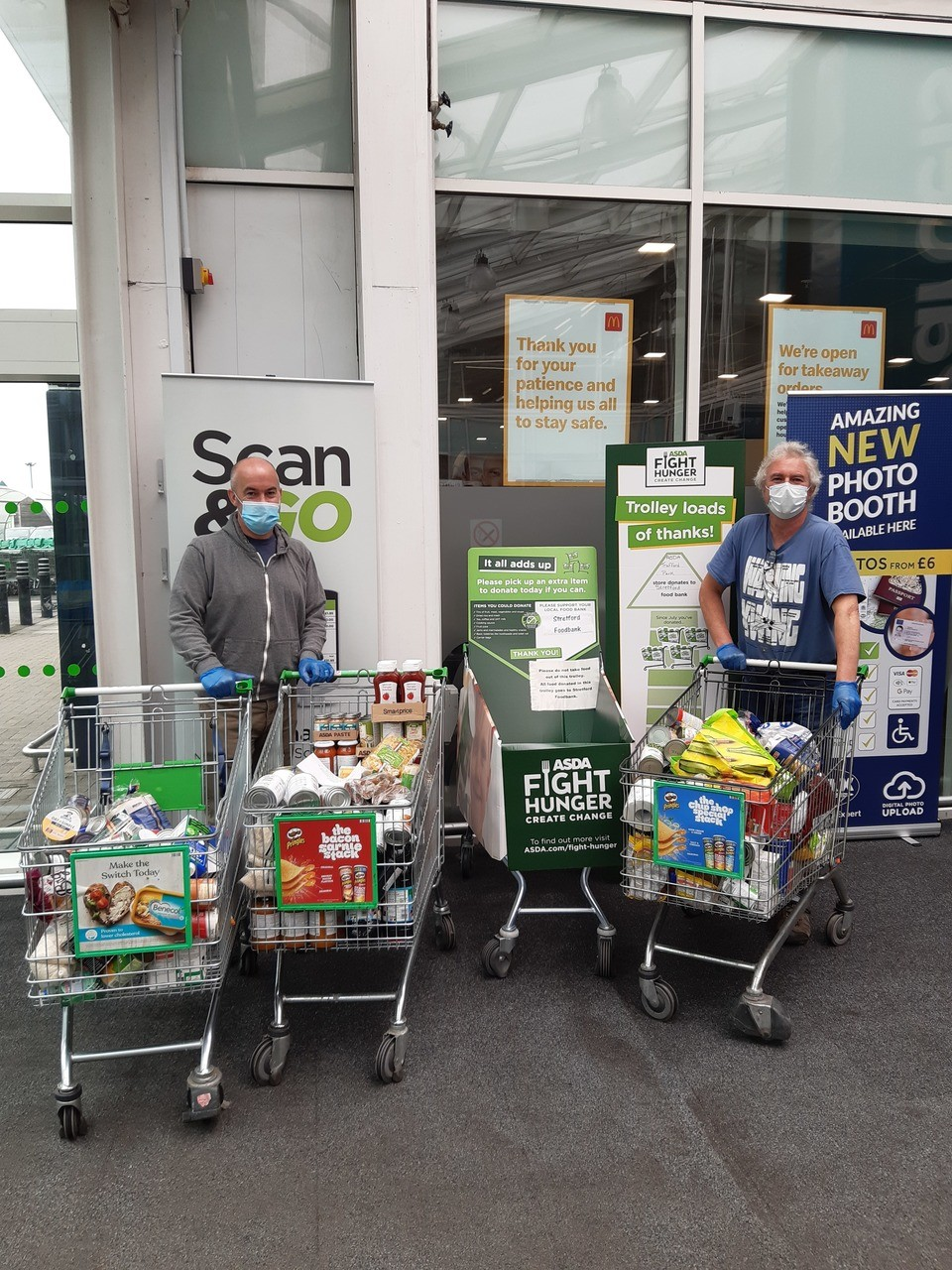 Supporting Stretford Foodbank | Asda Trafford Park