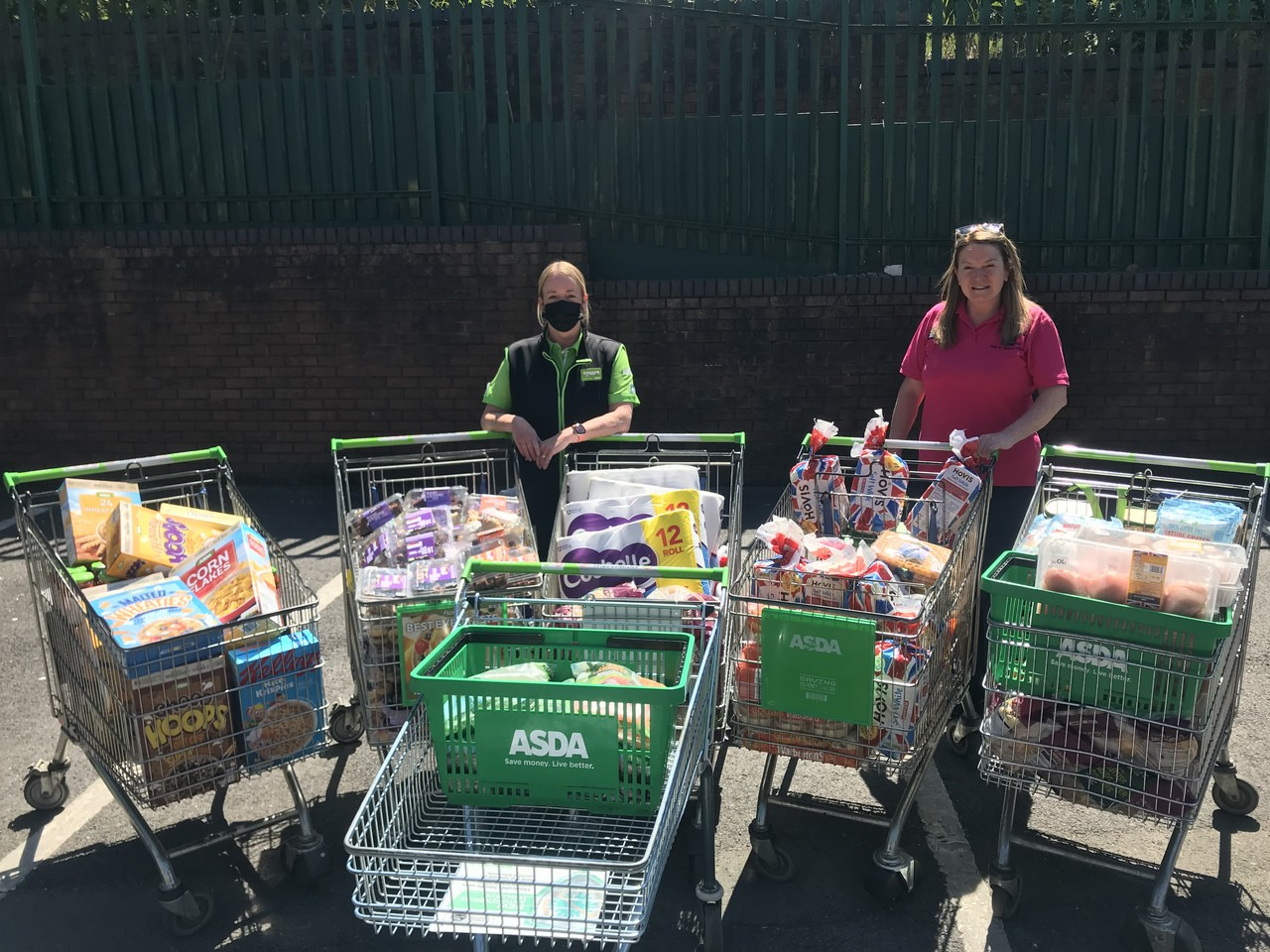 Alive & Kicking Out of School Club donation | Asda Blackburn