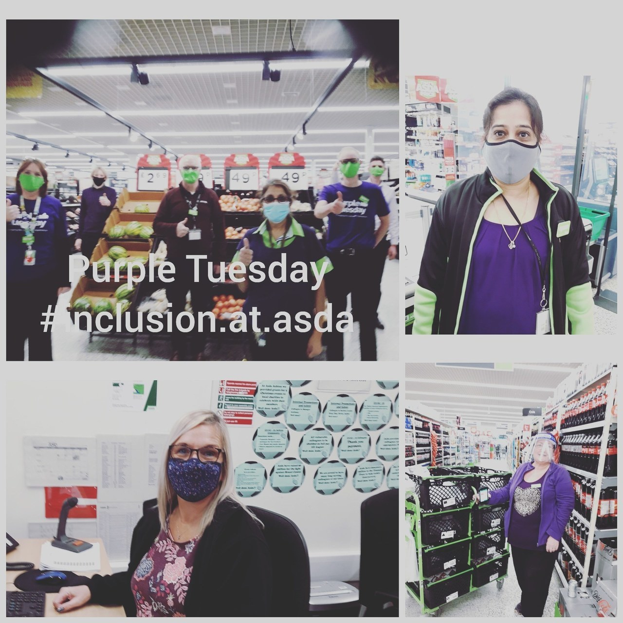 Purple Tuesday awareness | Asda Ashton