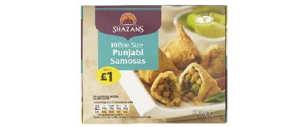 Shazan Foods Punjabi Samosas