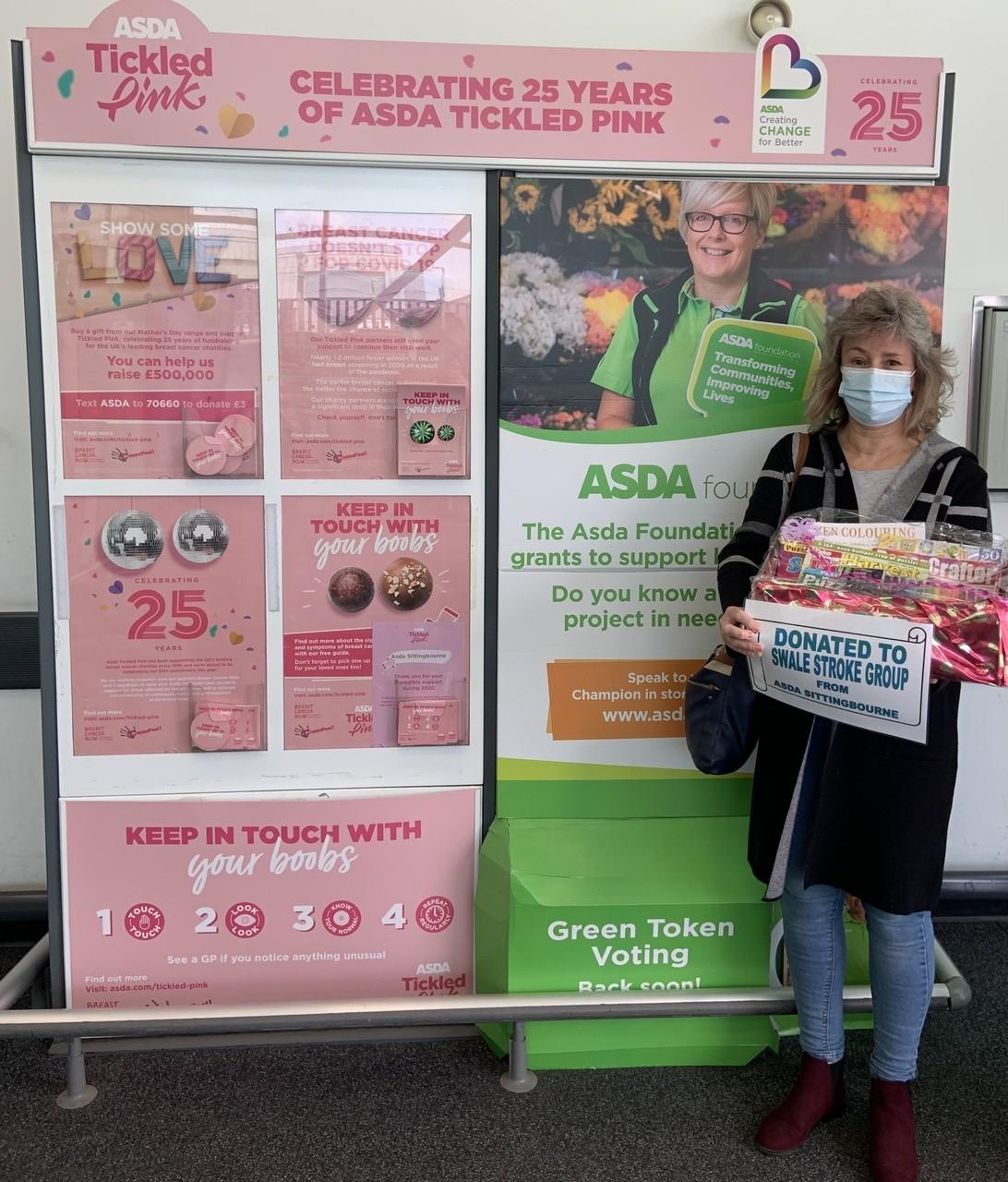 Wellness donation to The Swale Stroke Group | Asda Sittingbourne