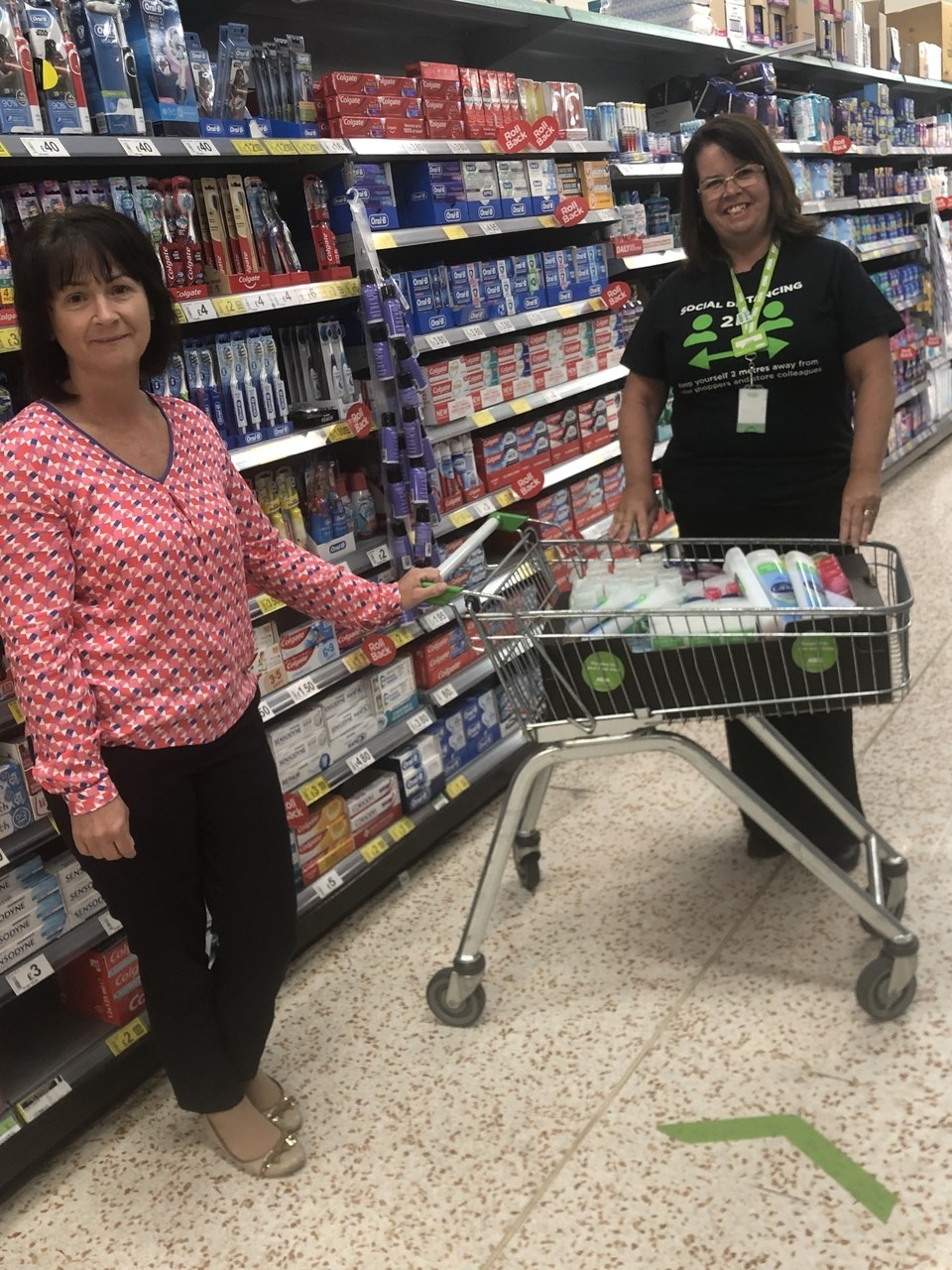 Donation time | Asda Downpatrick