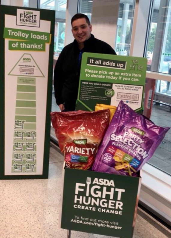Supporting Fight Hunger Create Change | Asda Stevenage