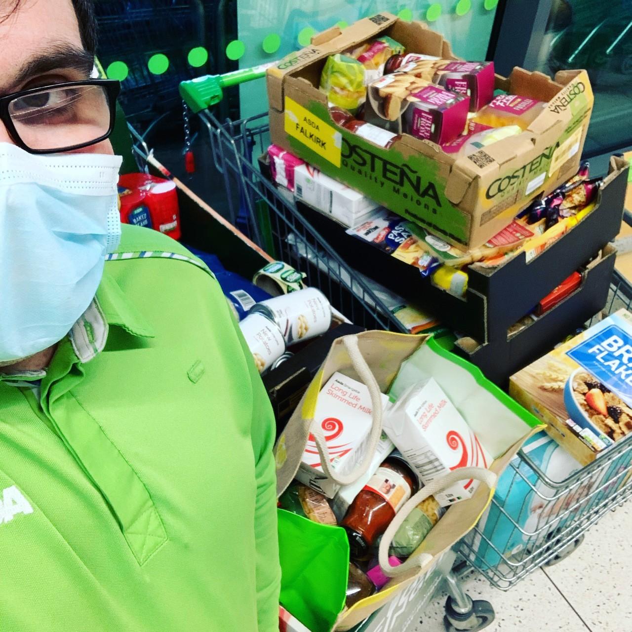 Food bank donations | Asda Tain