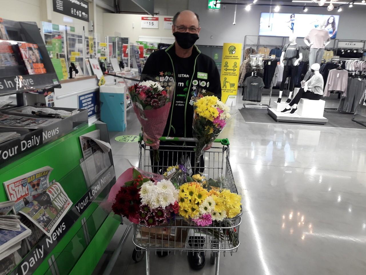 Flowers forPark Lane Care Home 🌻 | Asda Barnstaple