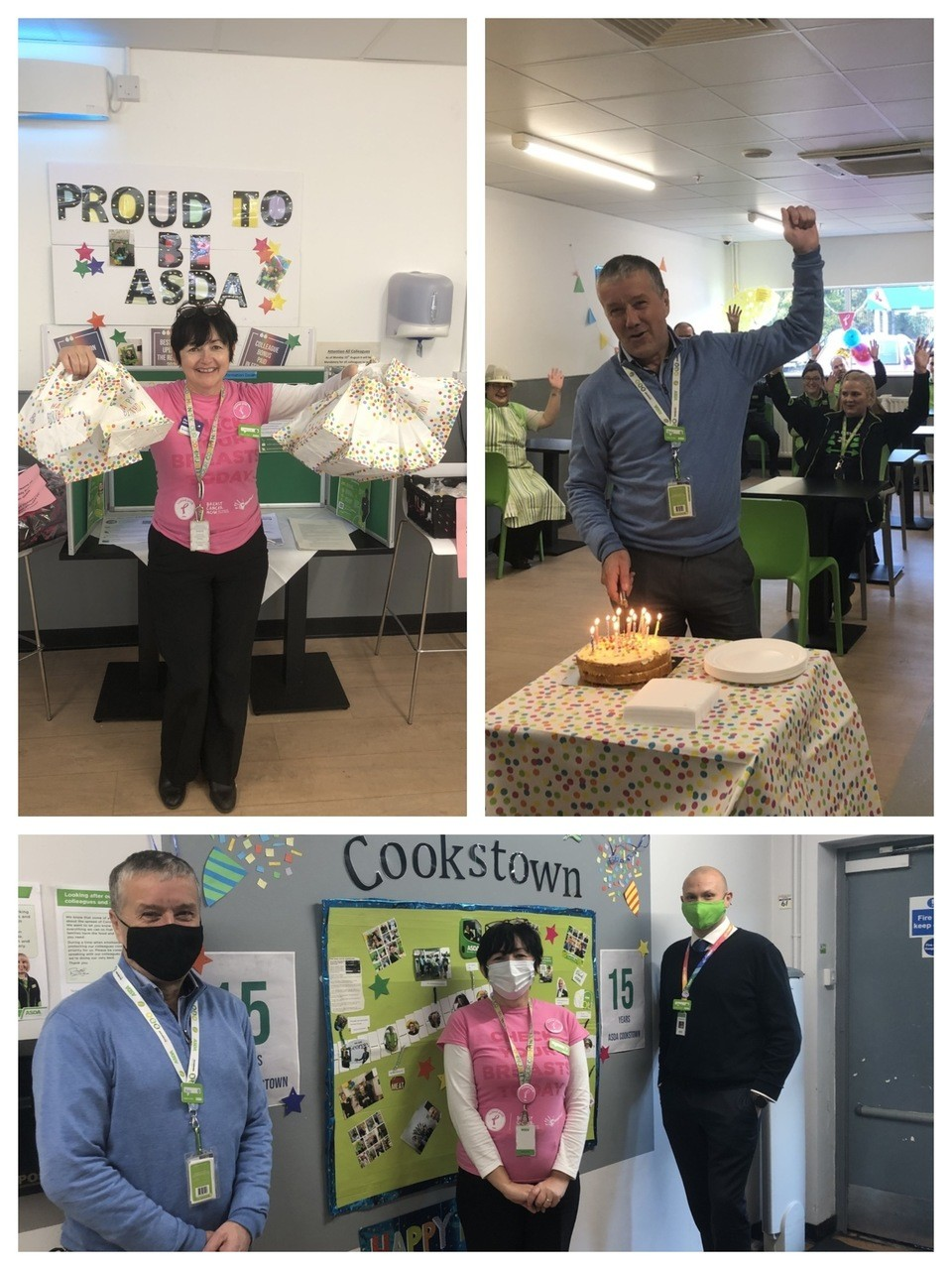 Cookstown colleagues celebrate store's 15th birthday | Asda Cookstown