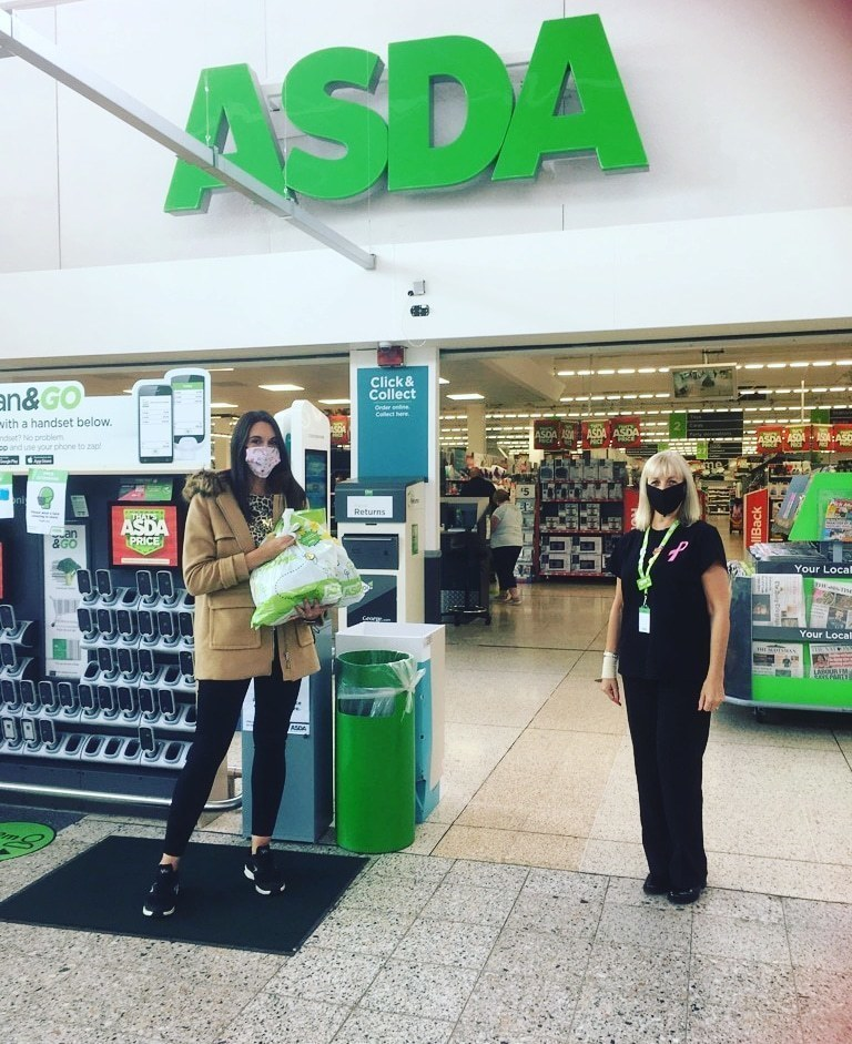 Donation thanks | Asda Dyce