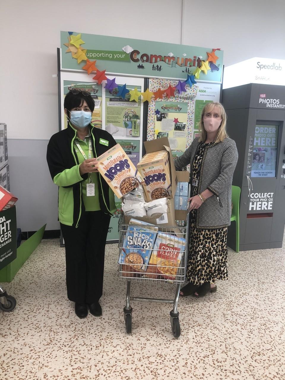 School donation | Asda Cookstown