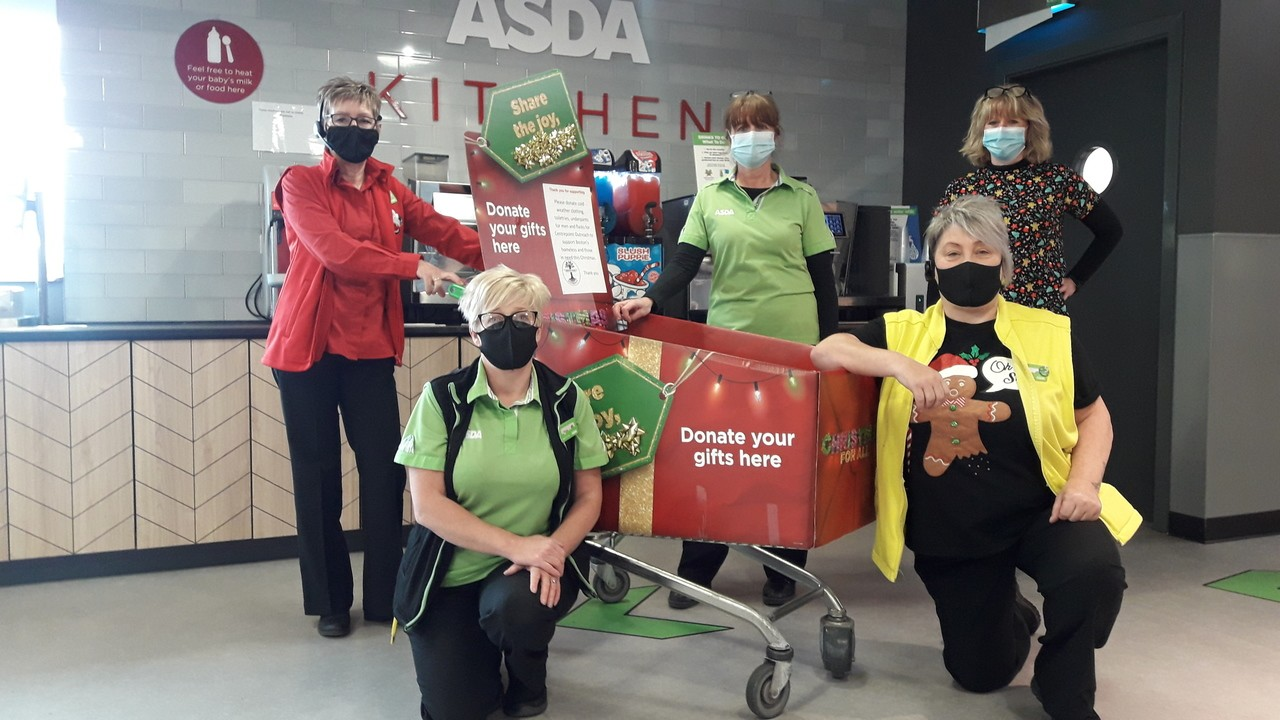 Asda Boston colleagues helping the lonely, homeless and vulnerable this Christmas | Asda Boston