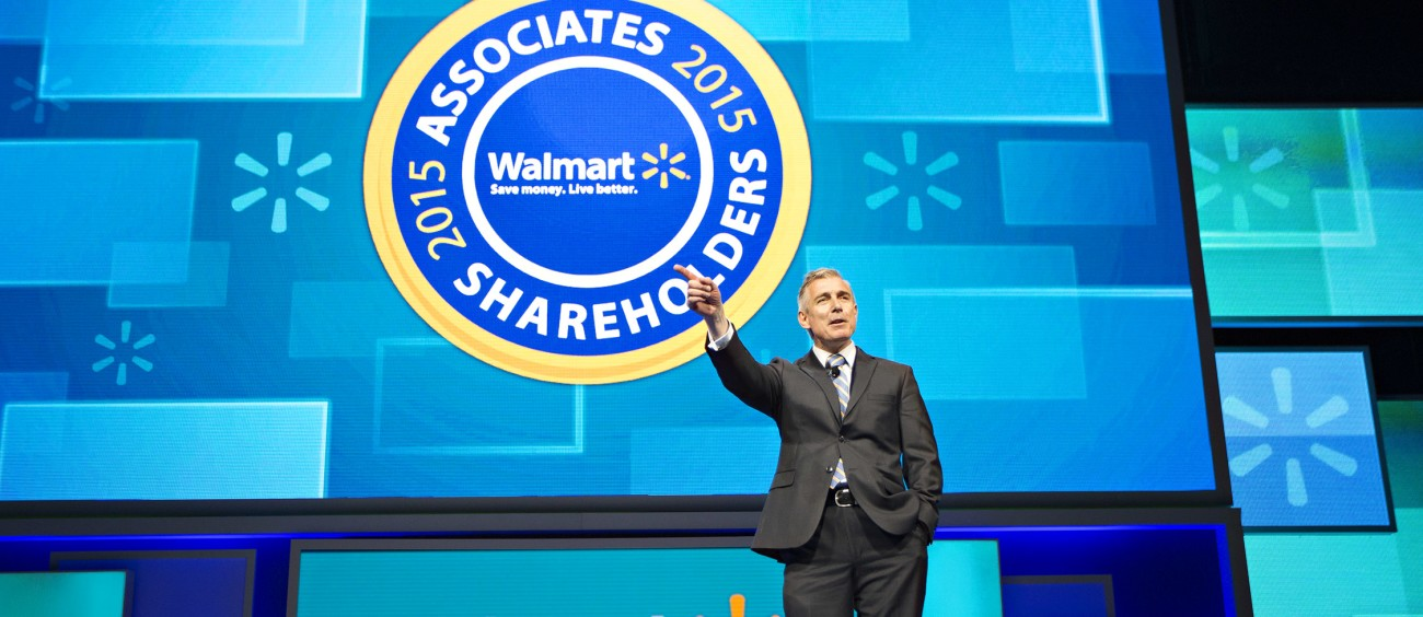 Walmart U.S. President and CEO Greg Foran Speaks at the 2015 Walmart Shareholders Meeting