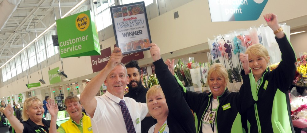 Warrington stores celebrate best supermarket award