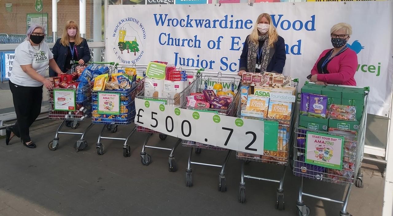 Supporting communities | Asda Donnington Wood