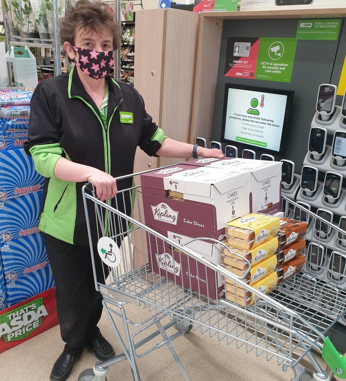 Donation to soup kitchen | Asda Mount Pleasant