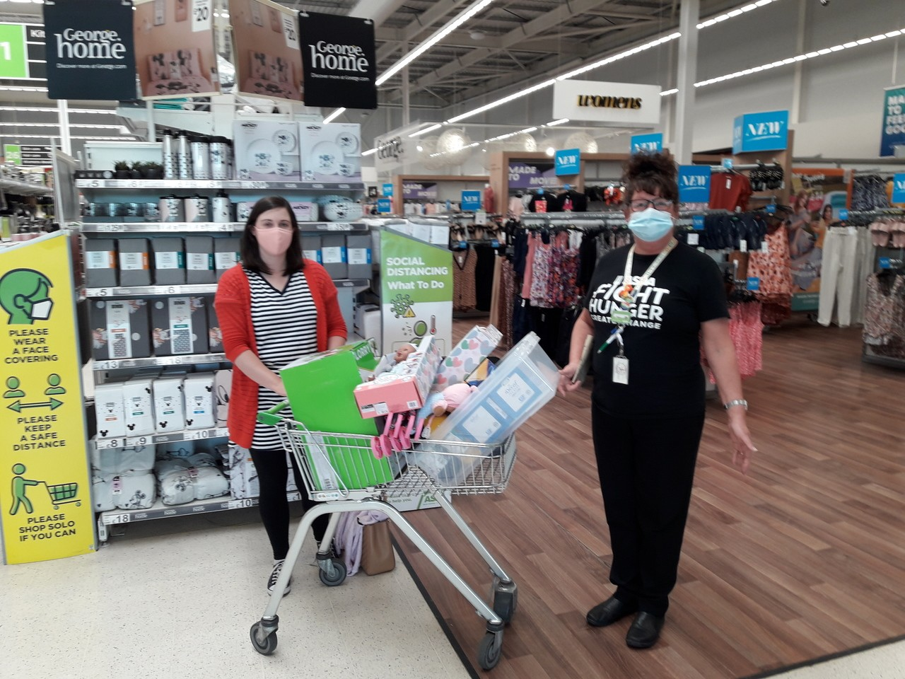 Toddler group donation | Asda Dundee West