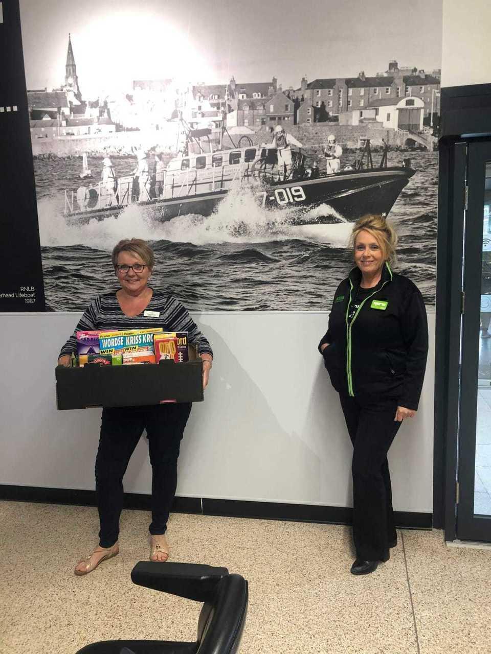 Donations to Kirkburn Court care home | Asda Peterhead
