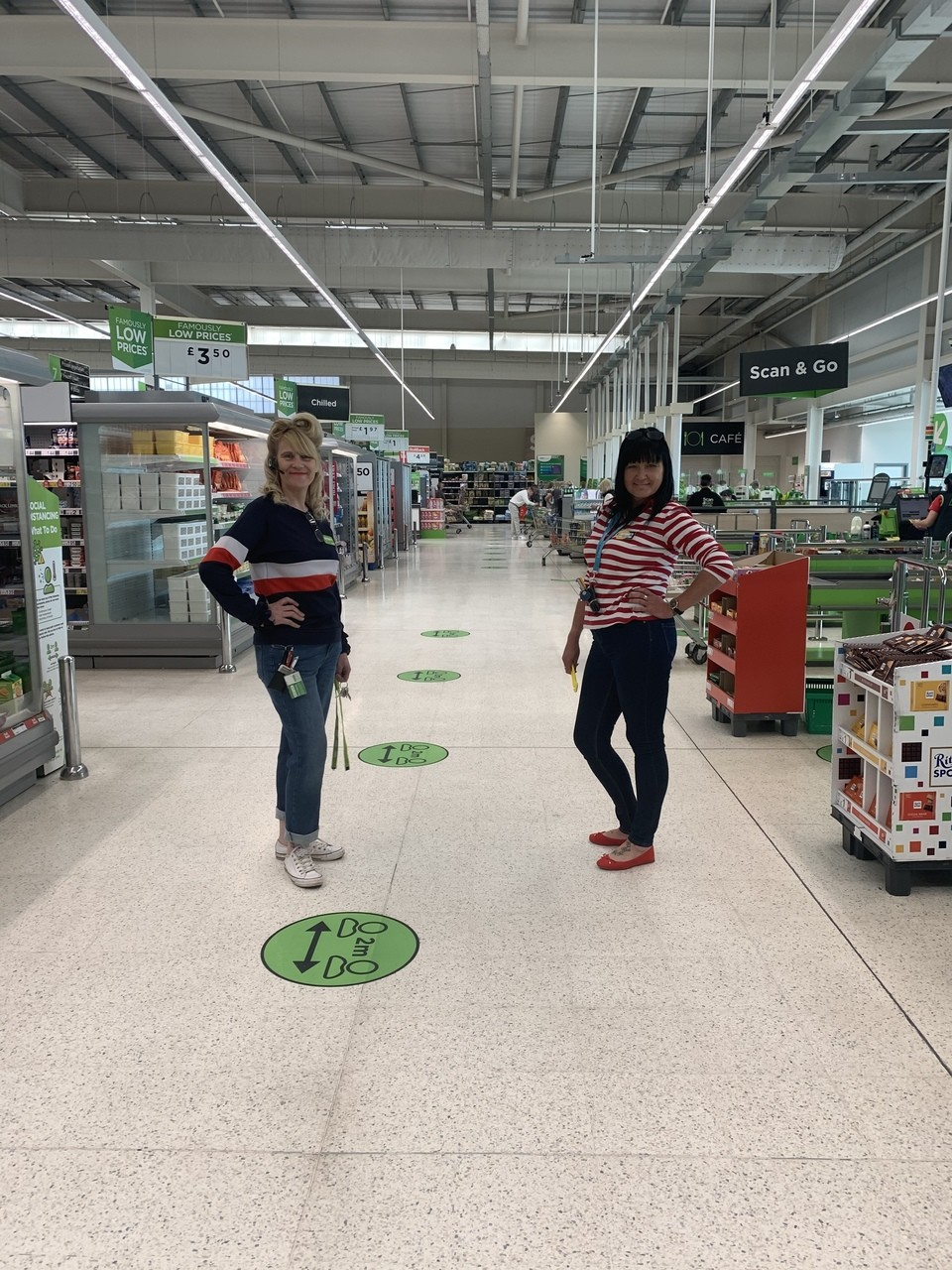 VE Day celebrations  | Asda Sheffield Chaucer Road