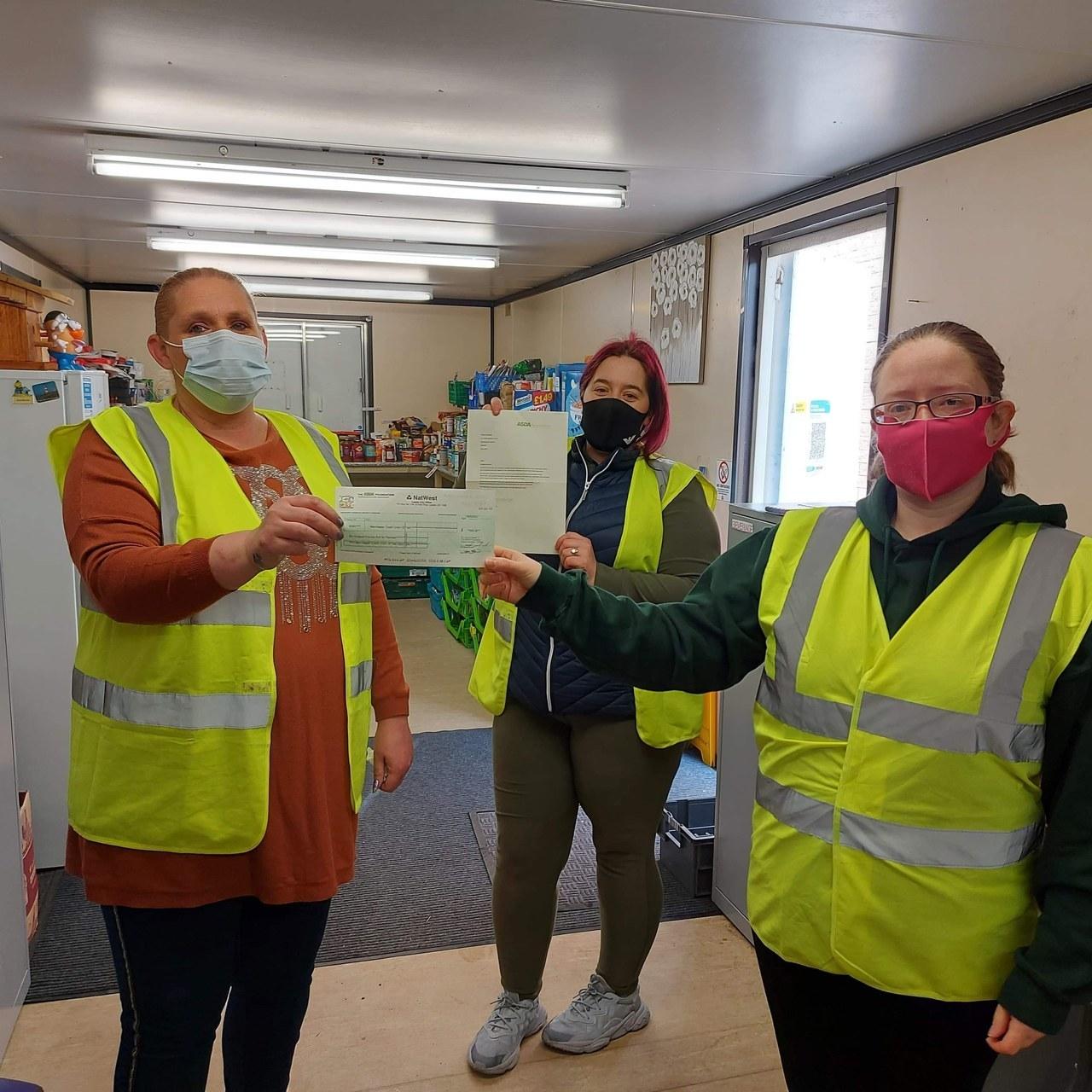 Food bank support | Asda Radcliffe