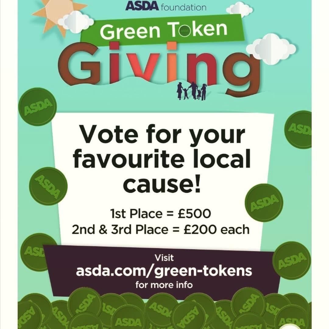 Asda Watford green tokens | Asda Watford