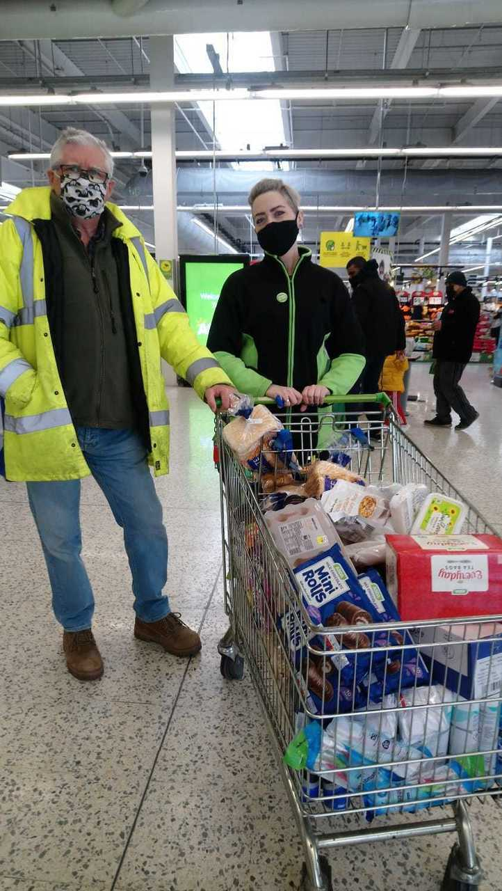 Donation to The Source | Asda Barking