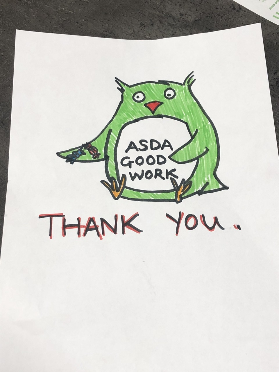 Making our colleagues smile | Asda Charlton