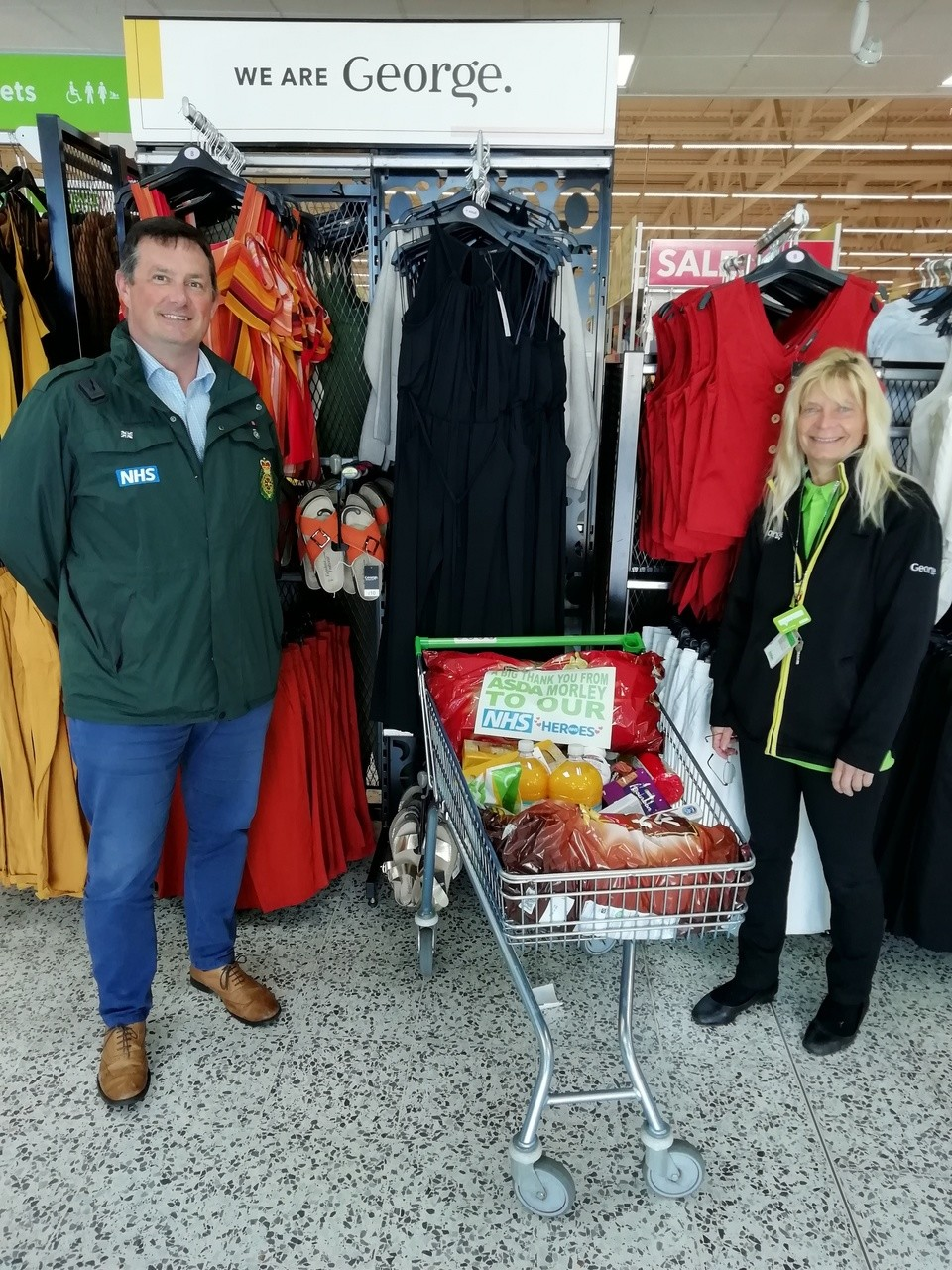 Donation to Yorkshire Ambulance Service | Asda Morley