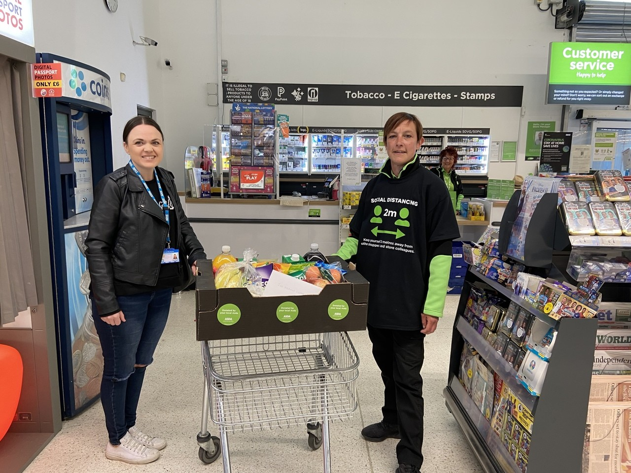 NHS donation to one of our local Health Centres | Asda Biggleswade
