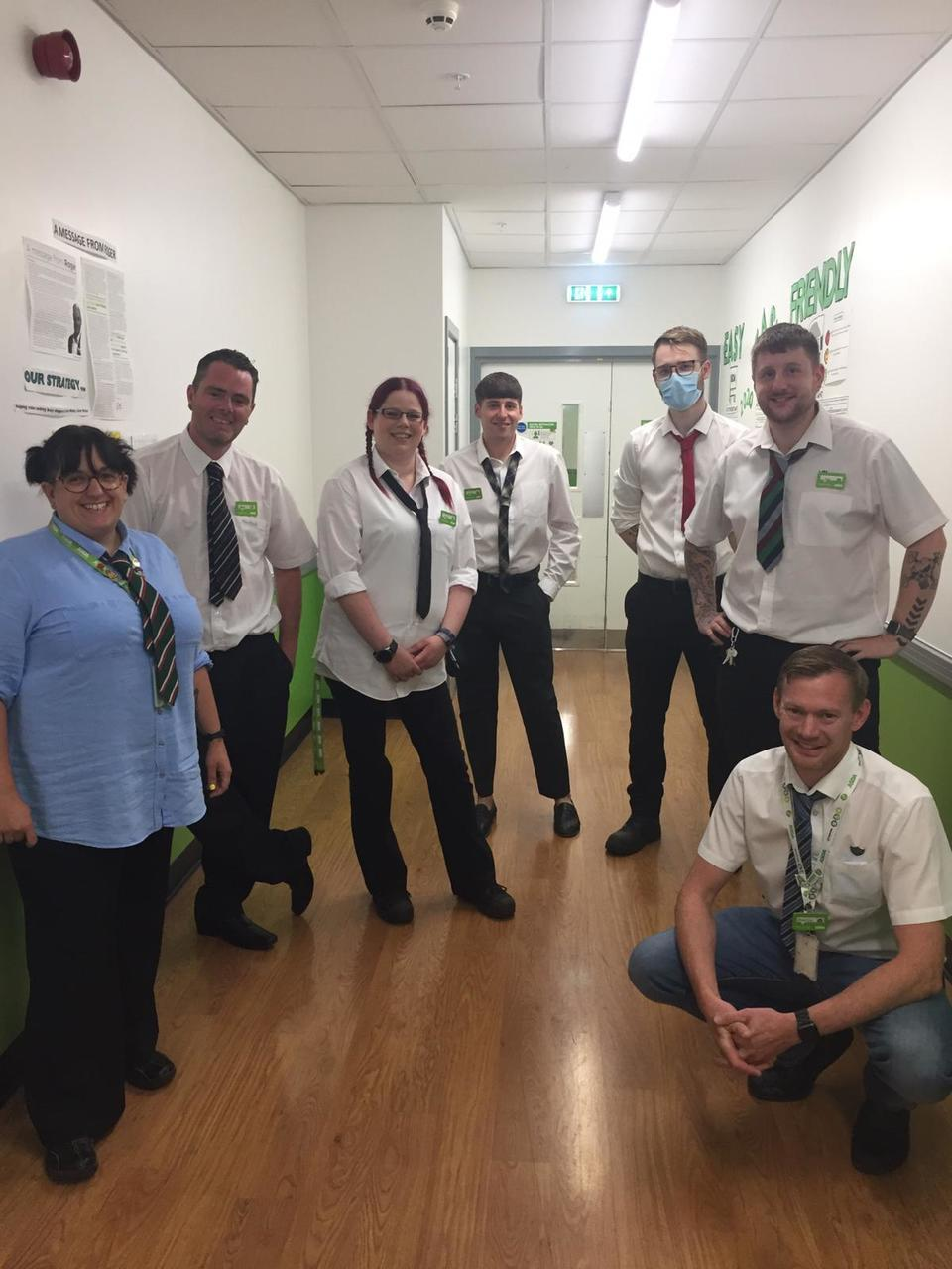 Perfect DayStaff at worcester store joining in on perfect day   Asda Worcester