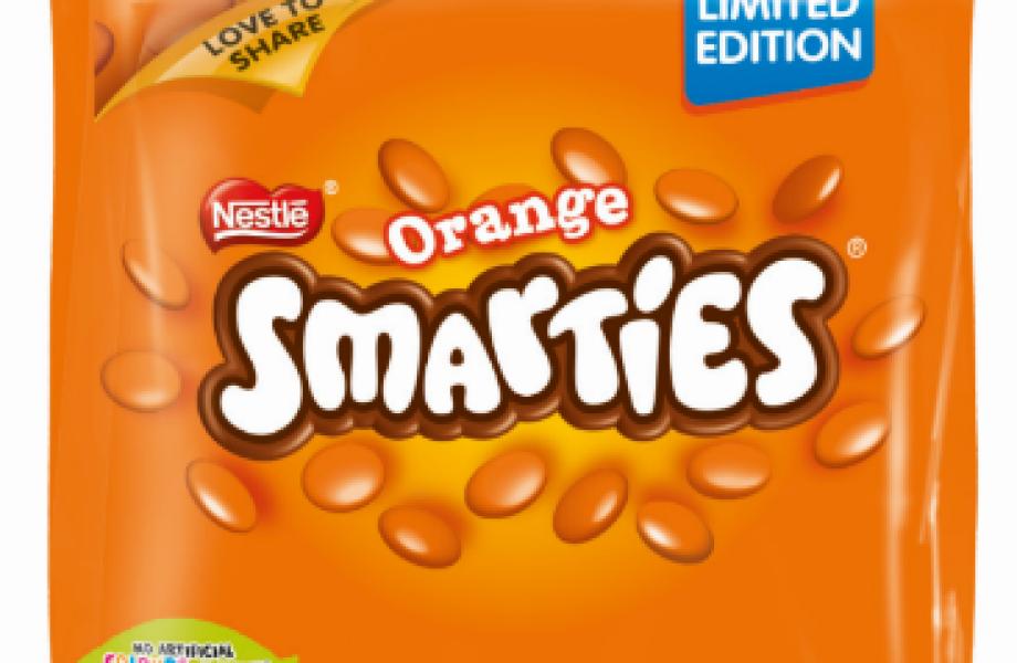Orange Smarties