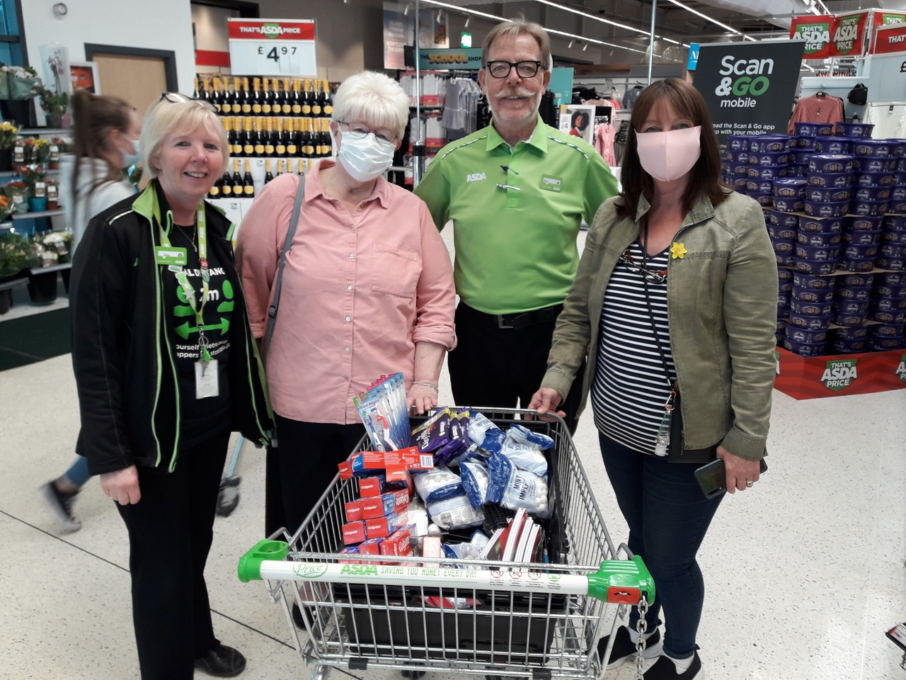 Donation toSalford and Greater Manchester Gynaecological Cancer Support Group | Asda Swinton