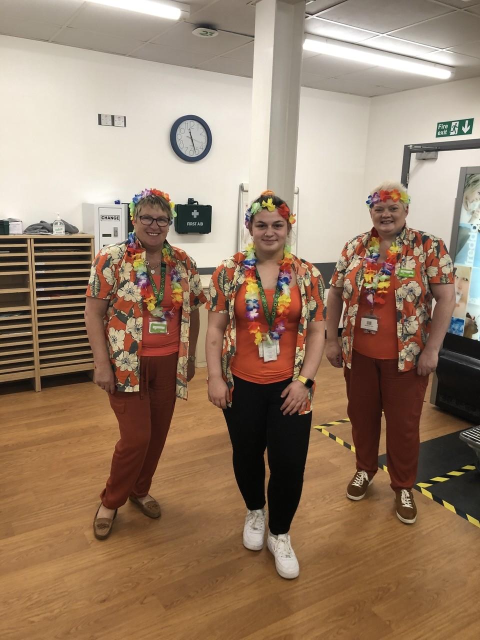 Triplets together again | Asda Portadown