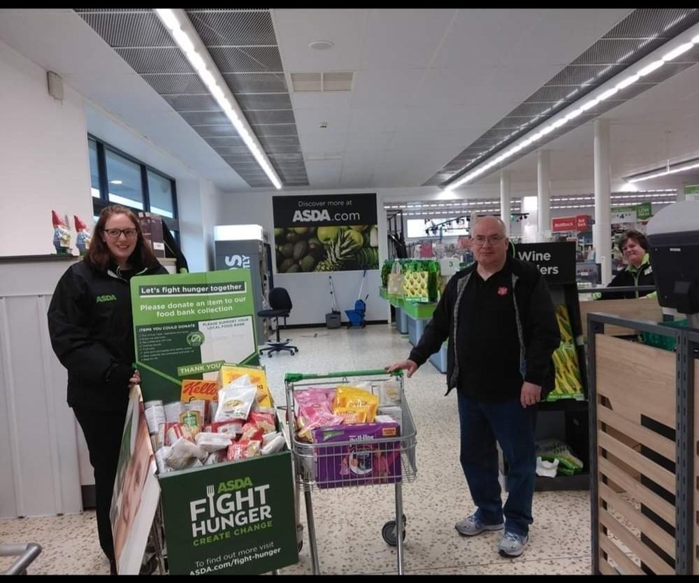 Foodbank thanks | Asda Peterhead