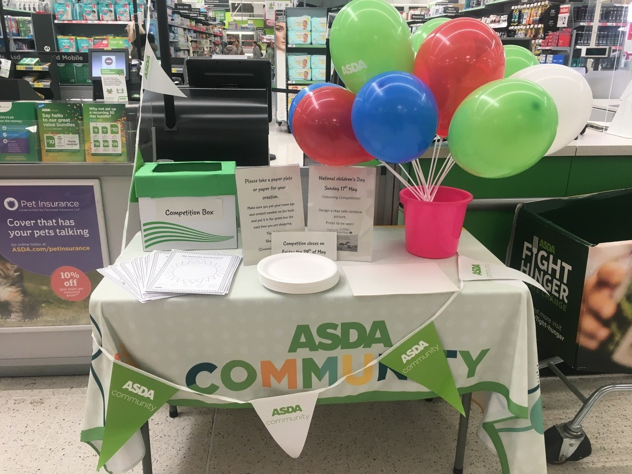 National Children's Day contest | Asda Clayton Green