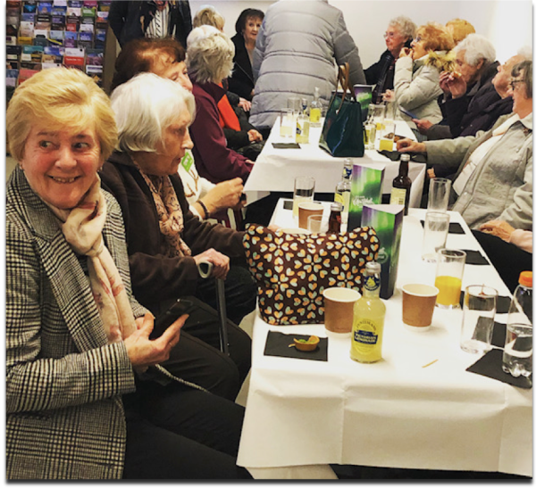 Members of St Joseph's Tuesday Club in Pudsey enjoy VIP night at theatre thanks to Asda Foundation